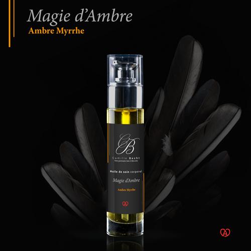 huile de massage magie d'ambre