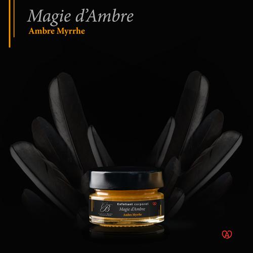 gommage corps français miniature magie d'ambre