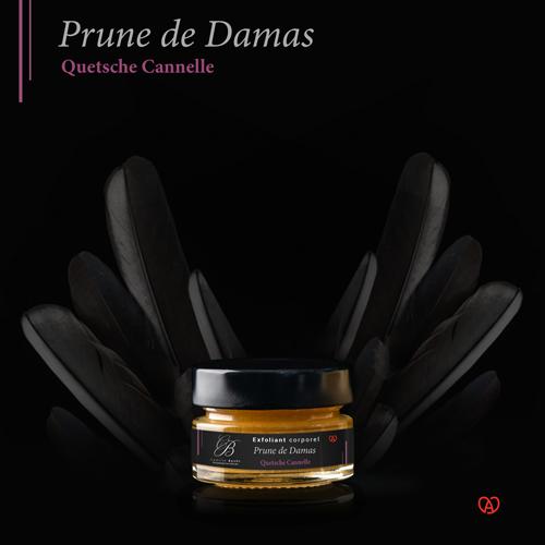 gommage naturel français prune de damas miniature