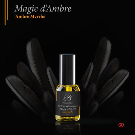 huile massage naturelle miniature magie d'ambre