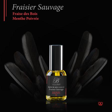 huile massage fraisier sauvage