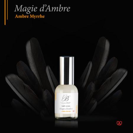 lait corporel français magie d'ambre miniature