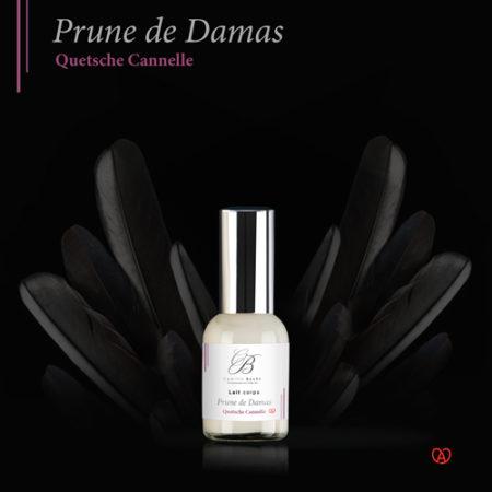 lait hydratant naturel français miniature prune de damas