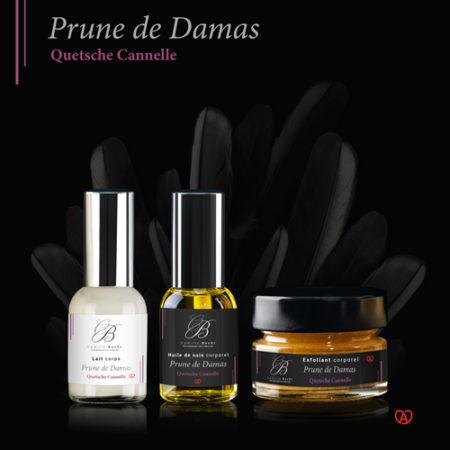 coffret produits origine naturelle prune de damas
